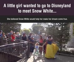 Little Girl's Dream Comes True (omg I'm crying right now :')  )