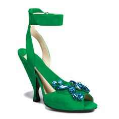 Prada.  I think most things Prada sends down the runway are hideous, but these are actually lovely.