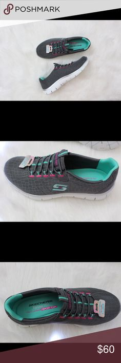 NWT RELAXED FIT SKECHERS Never been worn. Still in box. Air cooled memory foam. Roomier fit. All-day comfort. Contours to your foot. Skechers Shoes Athletic Shoes