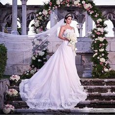 inesdisanto: Celebrating all of the beautiful women who wear Ines Di Santo! Congratulations Image by Gown selected Wedding Ceremony, Wedding Gowns, Pallas Couture, Strictly Weddings, Wedding Images, Wow Products, Bridal Boutique, On Your Wedding Day, Dream Dress