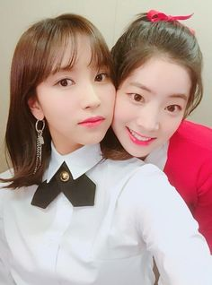 Mina & Dahyun Twice 180426 Nayeon, K Pop, South Korean Girls, Korean Girl Groups, Tofu, Twice Dahyun, Twice Kpop, Most Beautiful Faces, G Friend