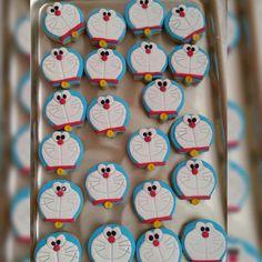 Handmade Doraemon cookies from Elifzel Tasarım Store