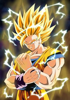 Goku Vs Majin Vegeta Dragon Ball Z Episode Fight. How strong was Majin Vegeta vs Goku? Did Vegeta had a chance when he when up against Goku in the Buu Saga? Dragon Ball Gt, Dragon Z, Ssj2, Goku Pics, Ball Drawing, Animes Wallpapers, Illustrations, Anime Art, Sketches