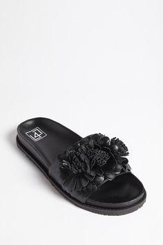 01b95aebcddf19 LFL by Lust for Life Floral Slide Sandals    38.00 USD    Forever 21