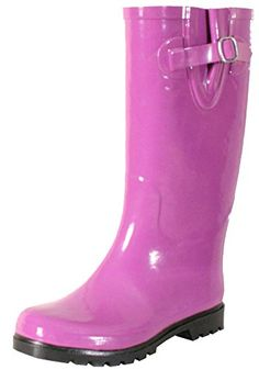 Nomad Women s Puddles Rain Boot Solid Orchid Pink Rain Boots, Rain Shoes,  Rubber Rain 1bff45ed83