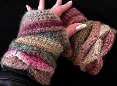 Jewel Fleece Lined Glove — Alily Crochet