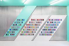 Colorful Smartphone Store Design in Valencia, Spain