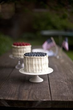 4th of July Cakes — Zoe Bakes
