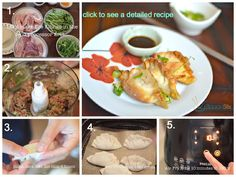 AirFryer dumplings, potstickers, or gyoza. Learn how to make it in 1 minute instructional video.
