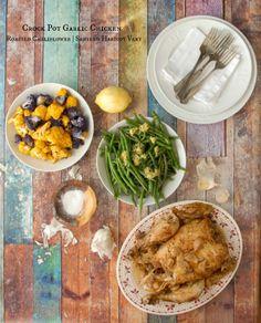Fresh 20 Crockpot Garlic Chicken  Meal  -