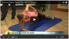 How to perfect your run and strengthen your core- for runners!