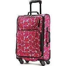 Carry On Luggage Bag Tote Travel Upright Rolling 4 Spinner Wheels Backpack 21""