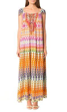 New Camilla Franks Silk Swarovski Loom Lovers Drawstring Kaftan Last   eBay