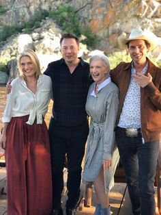 Elon musk is with tosca musk (his sister), maye musk (his mother), kimbal musk (his brother) Celebrities, 60 Fashion, Stylish Older Women, Role Models, Famous, Space Fashion, Elon Musk Sons, Maye Musk, Old Models