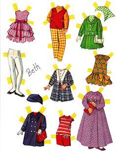 Paper Dolls~Dolly Darlings - Bonnie Jones - Picasa Webalbum