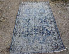Navy blue vintage rugs on my Etsy shop 10% Off code INSTAGRAM10