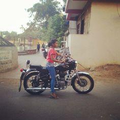 """india girls on bike welcomes-Women empowerment-Save A Girl Child-""""Beti Bachao-Beti Padhao"""""""