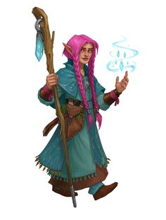 f Gnome Wizard Robes Cloak community forest hills farmland mountains underdark ArtStation - The Hollysharps, Graey Erb Fantasy Races, Fantasy Warrior, Fantasy Rpg, Medieval Fantasy, Fantasy Girl, Dungeons And Dragons Characters, Dnd Characters, Fantasy Characters, Female Characters