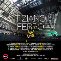 Tiziano Ferro – #TZN 2021 – Nuove date – Campania Tickets Broadway Shows, Dating, Movie Posters, Movies, Films, Broadway Plays, Film, Movie, Relationships