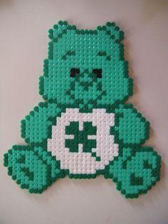 Care Bears Luck hama beads by supercrea