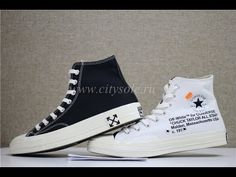 new styles fd45f 137c9 Off White x Converse Chuck Taylor 2.0 Black White Ready to Ship from  CitySole.RU