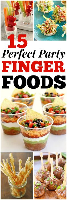 Looking for good hosting recipes? These easy party finger food recipes include e… Looking for good hosting recipes? These easy party finger food recipes include entrees, appetizers, sides and desserts to impress your friends and family! Finger Food Appetizers, Appetizers For Party, Appetizer Recipes, Appetizer Dips, Birthday Appetizers, Birthday Recipes, Party Finger Foods, Snacks Für Party, Party Desserts