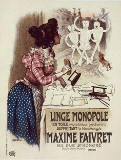 "Poster for ""Linge Monopole,"" Roedel, 1896-1900."