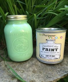 Hint of Mint Re-Purpose Paint  Quart size, water based