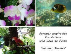 In this summer issue of an artist's magazine from Art Apprentice Online, artists will find many inspirational articles and painting lessons that are wrapped around fun summer themes. Summer Themes, Inspirational Articles, Great Paintings, Painting Lessons, Learn To Paint, Art Blog, Magazine, Artists, Fun
