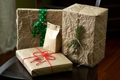 Brown Paper Packages Tied up with String by Chiot's Run, via Flickr