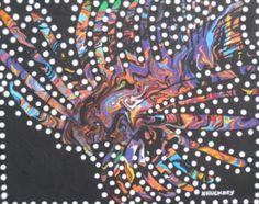 #MyriadColorMirage #LionFish #ZebraFish #Acrylic #Abstract #Painting #Art #Artwork #OceanArt #Fish #Swirly #Funky #Psychedelic #ContemporaryArt #ModernArt