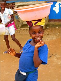 Young Liberian Girl in the Market | Photo Property of Charlene Espinoza