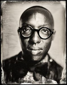 Finally...Chemistry is Back in the Photo Studio    PhotographerMichael Shindler has a small photography studio named Photobooth in San Francisco, California.  This is not a traditional photo studio, Michael is creating tintypes rather than traditional photos.