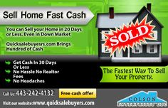 The Fastest Way To Sell Your Property  Sell Home Fast Cash  Free Cash Offer