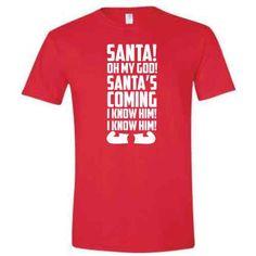 buddy the elf tshirt christmas t shirt mens funny movie dvd will ferrell