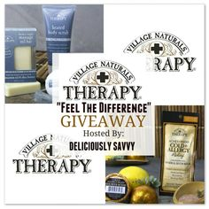"""Village Naturals Therapy """"Feel The Difference"""" Giveaway! 1 Winner (Ends 6/23) @VNTherapy"""