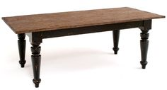 """Tuscan Collection Farm Dining Table Design #5 Item #DT00479 84""""L x 38""""W x 30.5""""H - $1695"""
