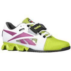 Reebok Crossfit Oly U-Form - Women's - Training - Shoes - White/Charged Green/Aubergine