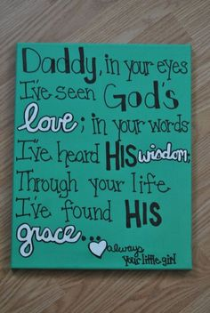 Remember, little eyes are watching. ~ Happy fathers day poems 2016 from daughter son.Funny short poems,best poems for dad on fathers day day poetry quotes for fathers best dad.Poems with image quotes for fathers. my dad my hero poems. Homemade Gifts, Diy Gifts, Daddy Day, Rip Daddy, Diy Inspiration, Fathers Day Crafts, Fathers Day Sayings, Happy Fathers Day Poems, Daddy Daughter Quotes