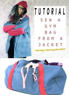 How to Sew a DIY Gym Bag: FREE Step-by-Step Tutorial