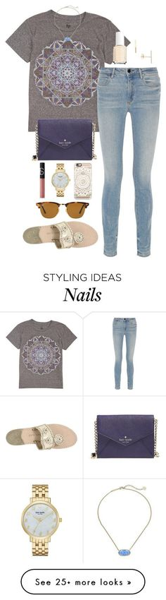 preparing for hoco this week // day 281 by littlebitofeverything on Polyvore featuring Billabong, Alexander Wang, Jack Rogers, Kate Spade, Casetify, J.Crew, Ray-Ban, NARS Cosmetics, Kendra Scott and Essie