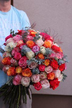 Buchet cu 65 trandafiri – Flowers of Soul Floral Wreath, Wreaths, Home Decor, Flowers, Homemade Home Decor, Flower Crown, Deco Mesh Wreaths, Interior Design, Garlands