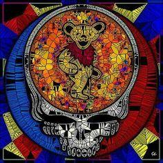 Grateful Dead Shows, Grateful Dead Skull, Grateful Dead Poster, Grateful Dead Music, Hippie Peace, Hippie Life, Dead Pictures, Dead Pics, Horror Pictures