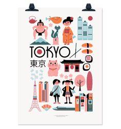 INGELA TOKYO PRINT
