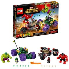 LEGO Avengers 76078 Hulk vs. Red Hulk LEGO Hulk Construction Toys