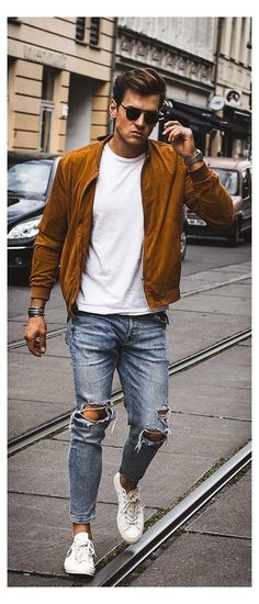 Fashion Jeans, Mens Fashion Wear, Mens Fashion Blog, Man Fashion, Style Fashion, Fashion Menswear, Dope Fashion, Fashion Clothes, Fashion Tips