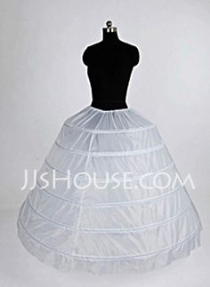 Petticoats - $22.99 - Nylon Ball Gown Full Gown 1 Tier Floor-length Slip Style/ Wedding Petticoats (037004105) http://jjshouse.com/Nylon-Ball-Gown-Full-Gown-1-Tier-Floor-length-Slip-Style-Wedding-Petticoats-037004105-g4105