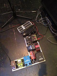 Scott Henderson / Vertex pedalboard