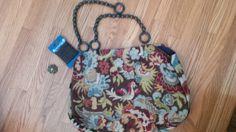 Handbags, Books...Whatever : Vicki Batman ~ #handbag Monday: How I made a bag!