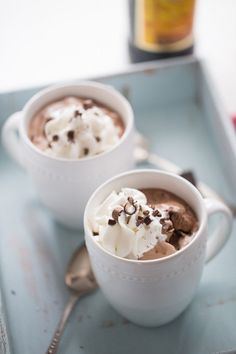 Mocha Mudslide Hot Chocolate | Community Post: 15 Holiday Cocktails That Are Basically Dessert